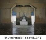 Concrete Bridge Pillars In...