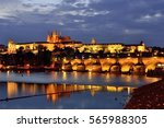 Charles Bridge  Prague Castle...