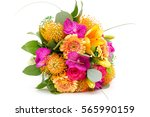 Bouquet Of Flowers Made Of...