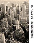 urban skyscrapers  new york...   Shutterstock . vector #56599870