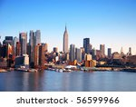 New York City Skyline Over...