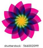 flower design | Shutterstock .eps vector #566002099