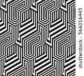 black and white pattern... | Shutterstock .eps vector #566016445