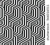 black and white pattern... | Shutterstock .eps vector #566016511