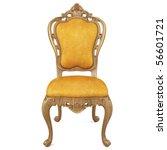 beautiful classic chair....   Shutterstock . vector #56601721