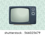sketchy styled portable... | Shutterstock .eps vector #566025679