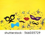 carnival party celebration... | Shutterstock . vector #566035729