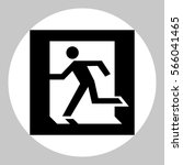safe condition sign. emergency... | Shutterstock .eps vector #566041465