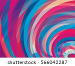 artistic design background with ... | Shutterstock .eps vector #566042287