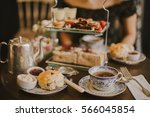 english tea time | Shutterstock . vector #566045854
