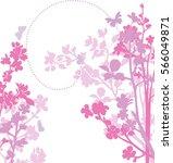 spring blossom | Shutterstock .eps vector #566049871