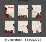 vector layout design template... | Shutterstock .eps vector #566063719