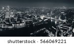 london aerial view panorama at... | Shutterstock . vector #566069221