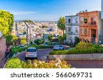 Lombard Street In San Francisc...