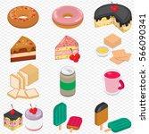 illustration of info graphic... | Shutterstock .eps vector #566090341