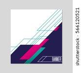 modern brochure abstract design.... | Shutterstock .eps vector #566120521