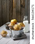 homemade freshly baked apple...   Shutterstock . vector #566134171