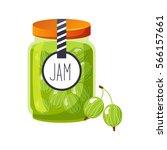 Sweet Gooseberry Green Jam...