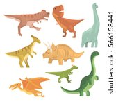 Dinosaurs Of Jurassic Period...