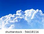 Background Of Sky.