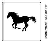 horse | Shutterstock .eps vector #566186449