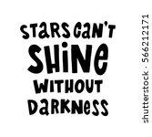 stars can't shine without... | Shutterstock .eps vector #566212171