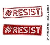 distressed vector stamp seal  ... | Shutterstock .eps vector #566212885