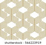 abstract geometric pattern with ... | Shutterstock .eps vector #566223919
