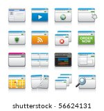 website icons | Shutterstock .eps vector #56624131