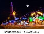 blackpool  uk  september 14  ... | Shutterstock . vector #566250319