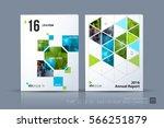 business vector. brochure... | Shutterstock .eps vector #566251879