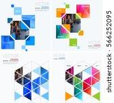 business vector design elements ... | Shutterstock .eps vector #566252095