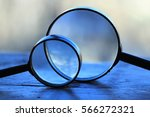 magnifier | Shutterstock . vector #566272321