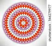 ornamental round pattern....   Shutterstock .eps vector #566279977