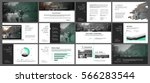 green and grey elements for... | Shutterstock .eps vector #566283544