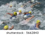 triathlon race   Shutterstock . vector #5662843
