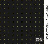 yellow crosses and circles with ... | Shutterstock .eps vector #566284861