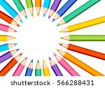white background with colored... | Shutterstock .eps vector #566288431