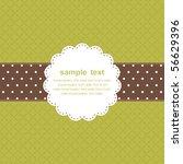 template frame design for... | Shutterstock .eps vector #56629396