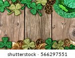 St patricks day double border...