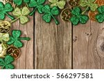 St patricks day corner border...