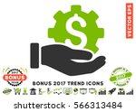 eco green and gray development... | Shutterstock .eps vector #566313484