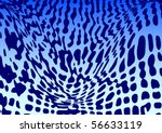 blue abstraction | Shutterstock .eps vector #56633119