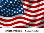 usa flag | Shutterstock . vector #56634223