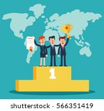 successful  smiling  young ...   Shutterstock .eps vector #566351419
