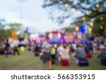 abstract blur people in night... | Shutterstock . vector #566353915