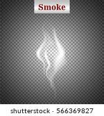 delicate white cigarette smoke...   Shutterstock .eps vector #566369827