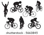 bicycles in test  vector ... | Shutterstock .eps vector #5663845