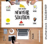 Small photo of NewYear Solution for Goals Start Your Life lifestyle begin Beginning businessman business