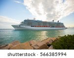 usa. florida. miami beach.... | Shutterstock . vector #566385994